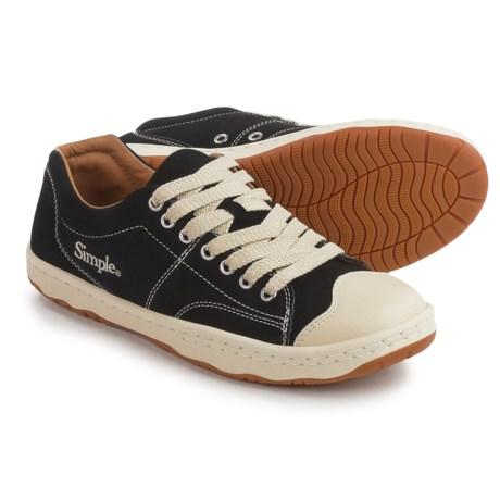 Simple Retro 91 Sneakers - Suede (For Men) in Black