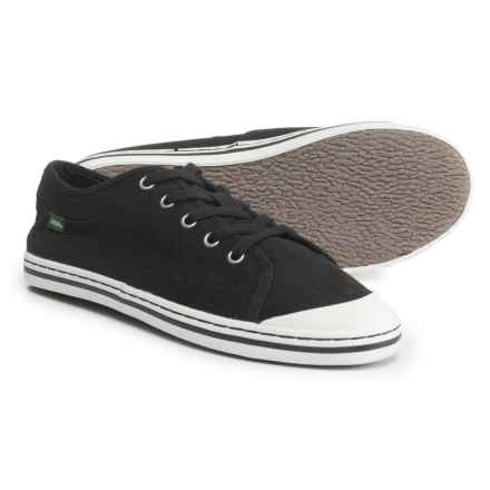 Simple Satire Lace Sneakers (For Women) in Black - Closeouts