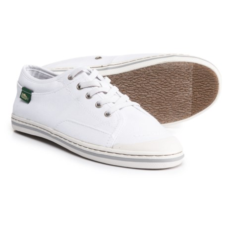 Simple Satire Lace Sneakers (For Women) in White