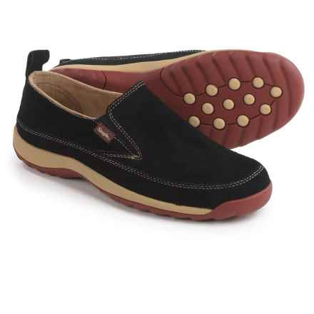 Simple Spice Shoes - Suede, Slip-Ons (For Women) in Black - Closeouts