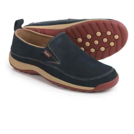 Simple Spice Shoes - Suede, Slip-Ons (For Women) in Navy - Closeouts