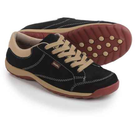 Simple Sugar Sneakers - Suede (For Women) in Black - Closeouts
