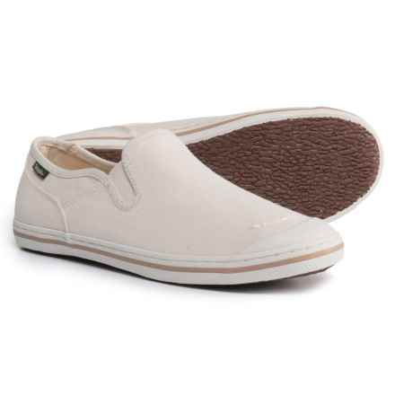 Simple Swan Canvas Sneakers (For Women) in White - Closeouts