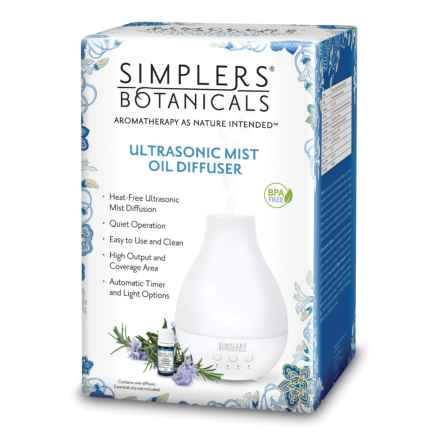 Simplers Ultrasonic Mist Essential Oil Diffuser in Multi - Closeouts