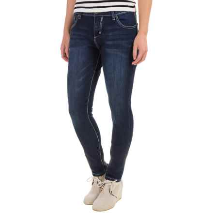 Simply Blue Willa Skinny Jeans - Low Rise (For Women) in Night Life - Closeouts