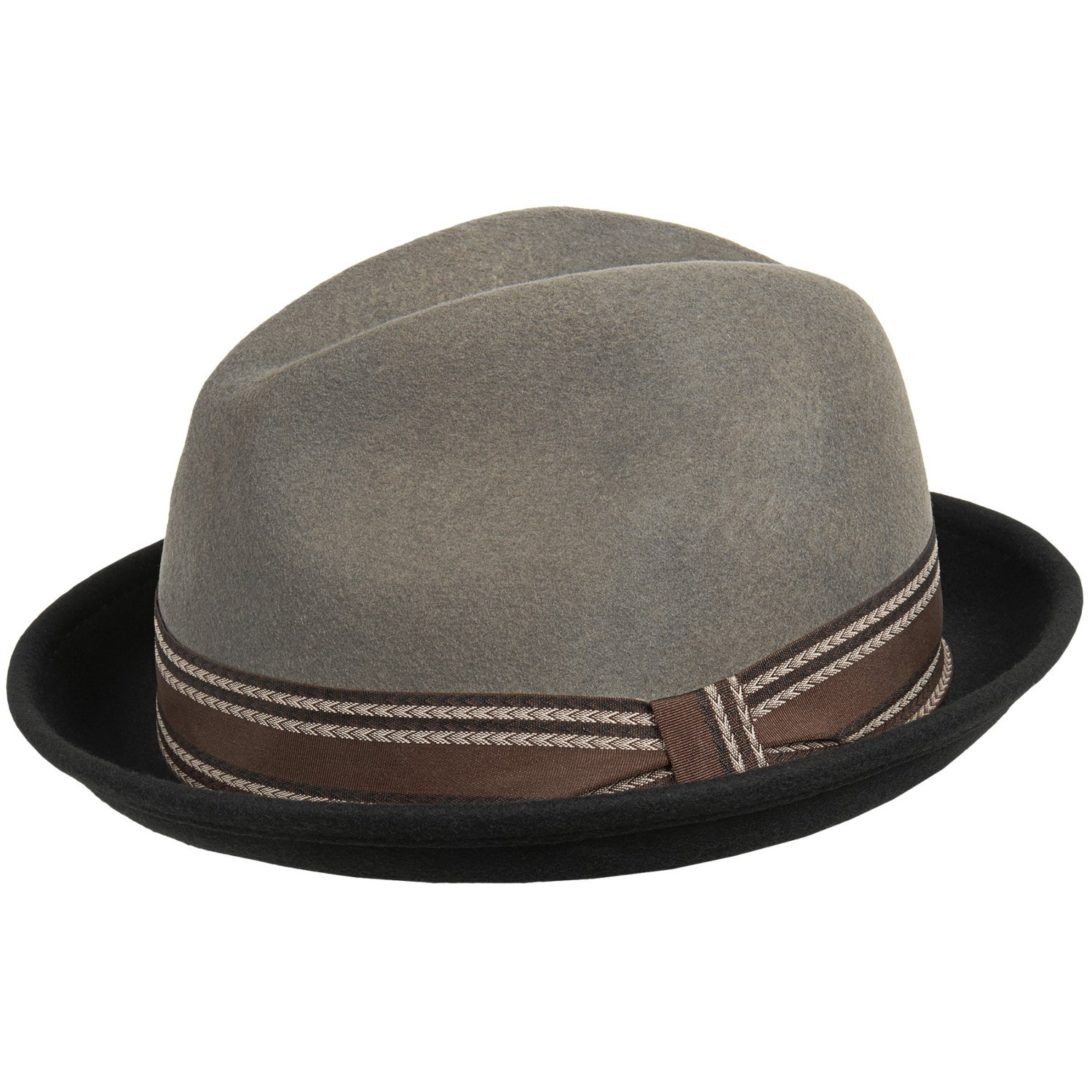 sinatra twotone wool felt fedora hat for men save 40