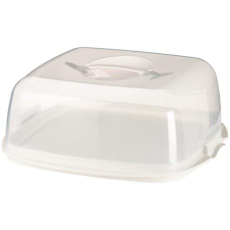 Sistema Bake IT Cake Box in Clear