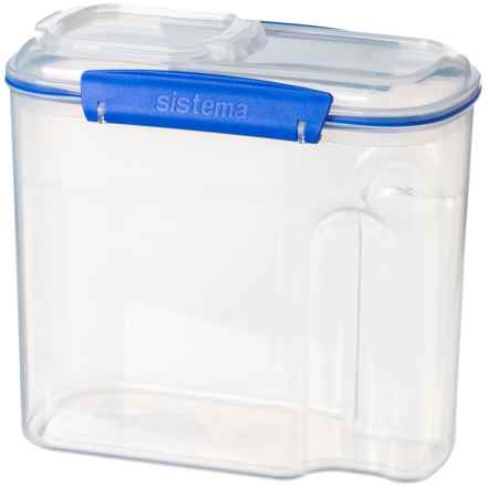 Sistema Klip IT Cereal Container - 94.6 oz. in Clear - Closeouts