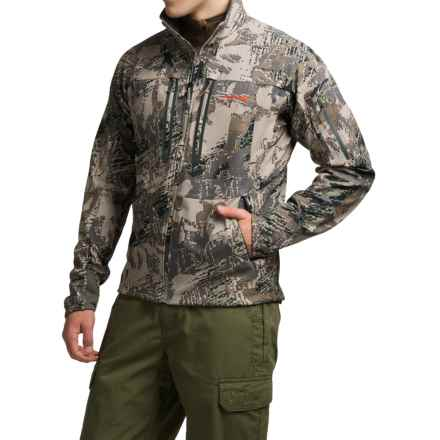 Sitka 90% Optifade® Soft Shell Jacket (For Men) in Optifade Open Country - Closeouts