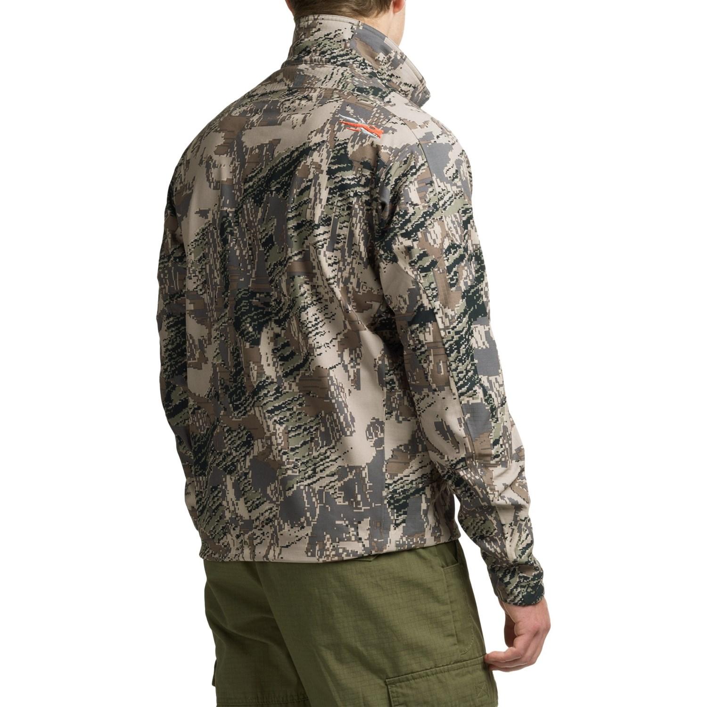 Sitka 90 Optifade 174 Soft Shell Jacket For Men Save 48