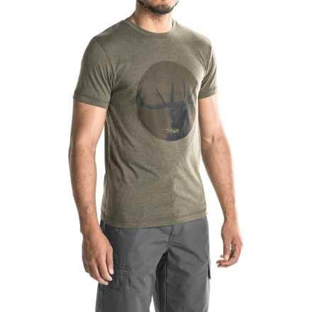 Sitka Bugle T-Shirt - Short Sleeve (For Men and Big Men) in Pyrite - Closeouts
