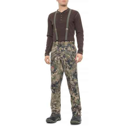 Sitka Cloudburst Gore-Tex® Pants - Waterproof (For Men and Big Men) in Optifade Ground Forest - Closeouts