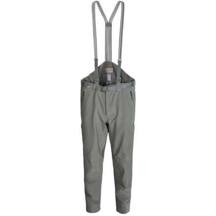 Sitka Coldfront Gore-Tex® Bib Pants - Waterproof (For Men) in Woodsmoke - Closeouts
