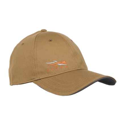 Sitka Fitted Cap in Clay - Closeouts