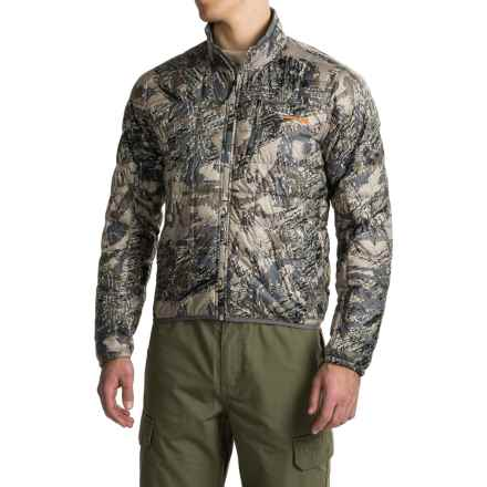 Sitka Kelvin Down Ultralight Jacket - PrimaLoft®, 750 FP (For Men and Big Men) in Optifade Open Country - Closeouts