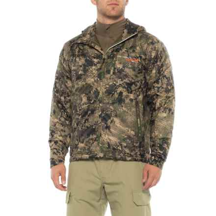 Sitka Kelvin Lite Hooded Jacket - Insulated (For Men) in Optifade Ground Forest - Closeouts