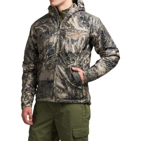 Sitka Kelvin Lite Hooded Jacket - Insulated (For Men) in Optifade Open Country