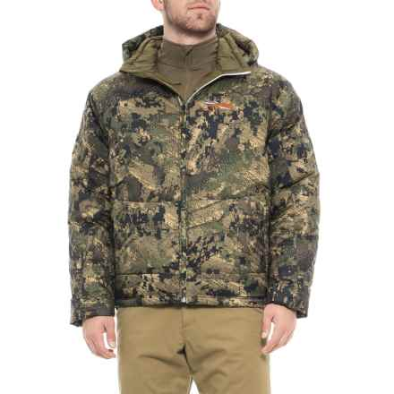 Sitka Kelvin PrimaLoft® Down Hybrid Hoodie - 750 Fill Power (For Men) in Optifade Ground Forest - Closeouts