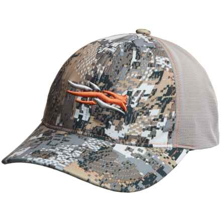 Sitka Stretch Fit Baseball Cap in Optifade Elevated Ii - Closeouts