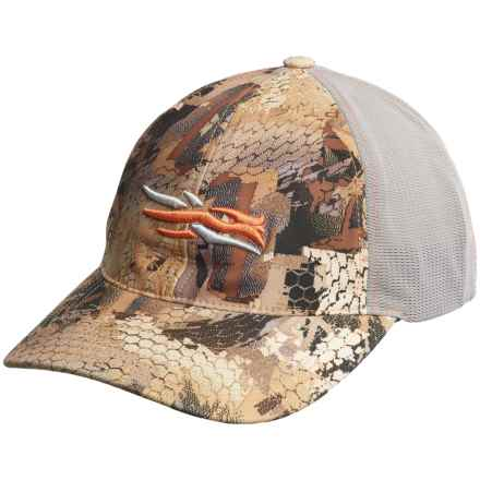 Sitka Stretch Fit Baseball Cap in Optifade Waterfowl - Closeouts