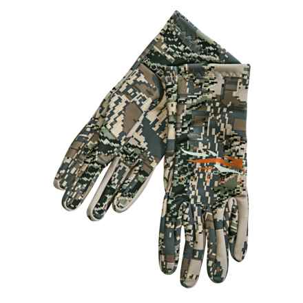 Sitka Traverse Optifade® Liner Gloves (For Men) in Optifade Open Country - Closeouts