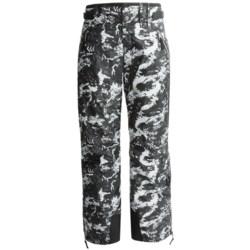Skea Cargo Ski Pants - Insulated (For Women) in Black Komodo