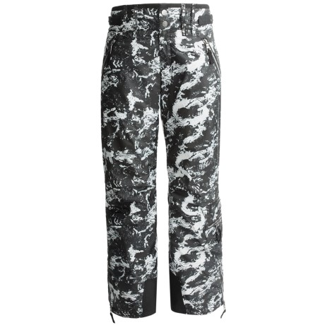 Skea Cargo Ski Pants - Insulated (For Women) in Black Komodo