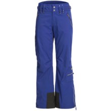 Skea Cargo Ski Pants - Insulated (For Women) in Bright Blue - Closeouts