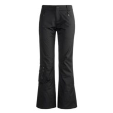 Skea Chaps Ski Pants - Insulated Soft Shell (For Women) in Black - Closeouts