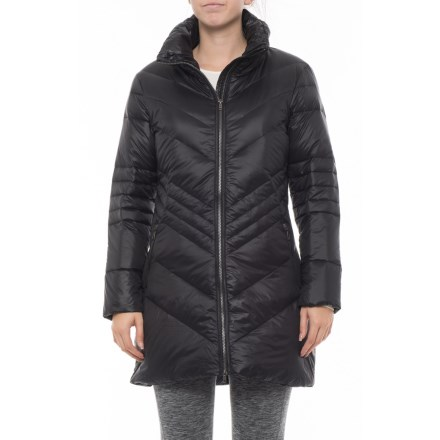 8a672b618d7 Skea Chevy Long Puffer Jacket - Insulated (For Women) in Black - Closeouts