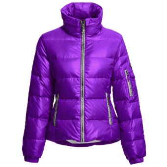 Skea Chloe Down Parka - 550 Fill Power (For Women) in Purple