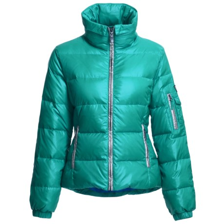 Skea Chloe Down Parka - 550 Fill Power (For Women) in Teal