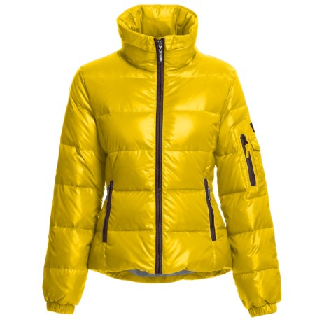 Skea Chloe Down Parka - 550 Fill Power (For Women) in Yellow