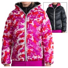 Skea Java Down Jacket - Reversible, Insulated (For Women) in Black/Pink Komodo - Closeouts