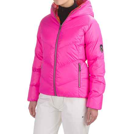 Skea Java Down Parka - Reversible (For Women) in Hot Pink/Pink - Closeouts