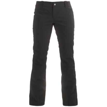 Skea Kami Stretch Tech Long Pants - Insulated (For Women) in Black - Closeouts