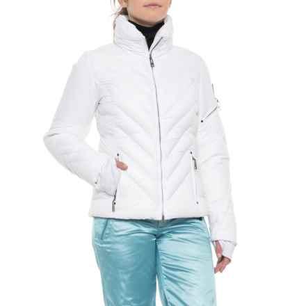 Skea Phoebe Down Ski Jacket - Waterproof (For Women) in White - Closeouts