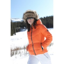 Skea Reese Down Sport Parka - 550 Fill Power (For Women) in Orange - Closeouts