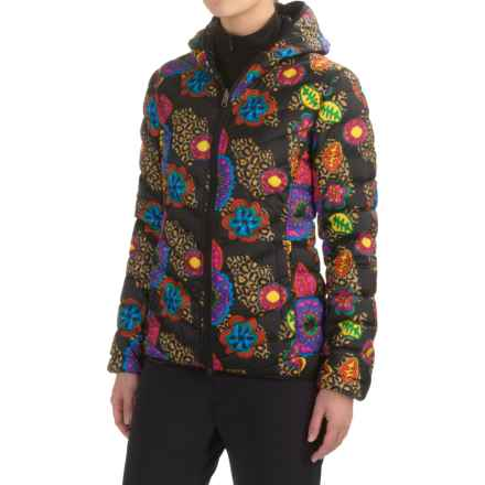 Skea Stone Puffy Down Jacket - Reversible (For Women) in Amalfi Print - Closeouts