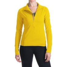 Skea Zumi Shirt - Zip Neck, Long Sleeve (For Women) in Yellow - Closeouts