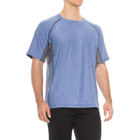 Skechers 10K T-Shirt - Short Sleeve (For Men) in Blue
