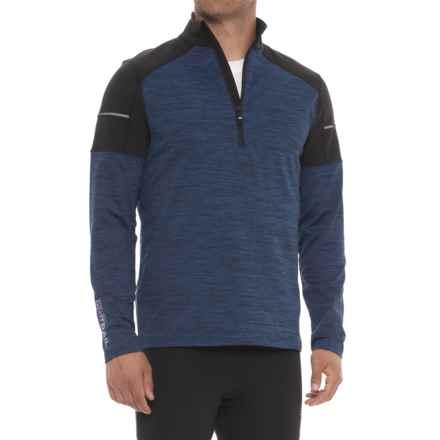 Adventure Sweatshirt - Zip Neck (For Men) in Blue - Closeouts
