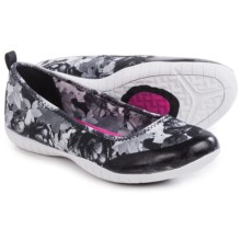 Skechers Atomic Sweet Bouquet Shoes - Slip-Ons (For Women) in Black/White - Closeouts