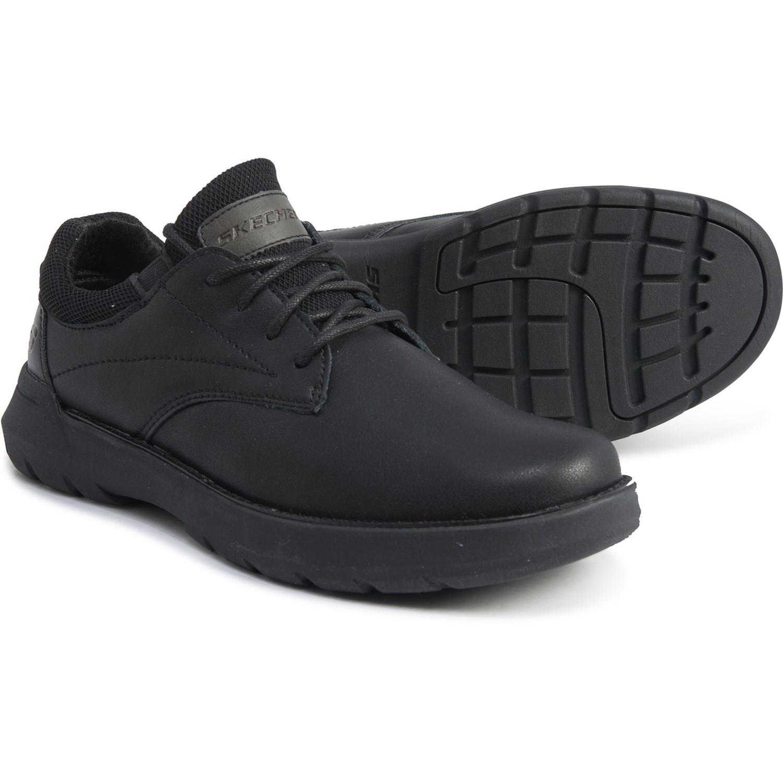 Skechers Black Doveno Vander Oxford Shoes (For Men) Save 42%