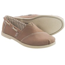Skechers BOBS Chill Luxe Dockside Shoes - Slip-Ons (For Women) in Taupe - Closeouts