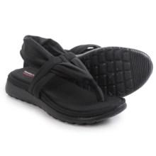 Skechers Breeze Low Studio Sport Sandals (For Women) in Black - Closeouts