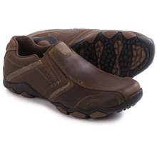 Skechers Diameter-Valen Shoes - Leather, Slip-Ons (For Men) in Brown - Closeouts