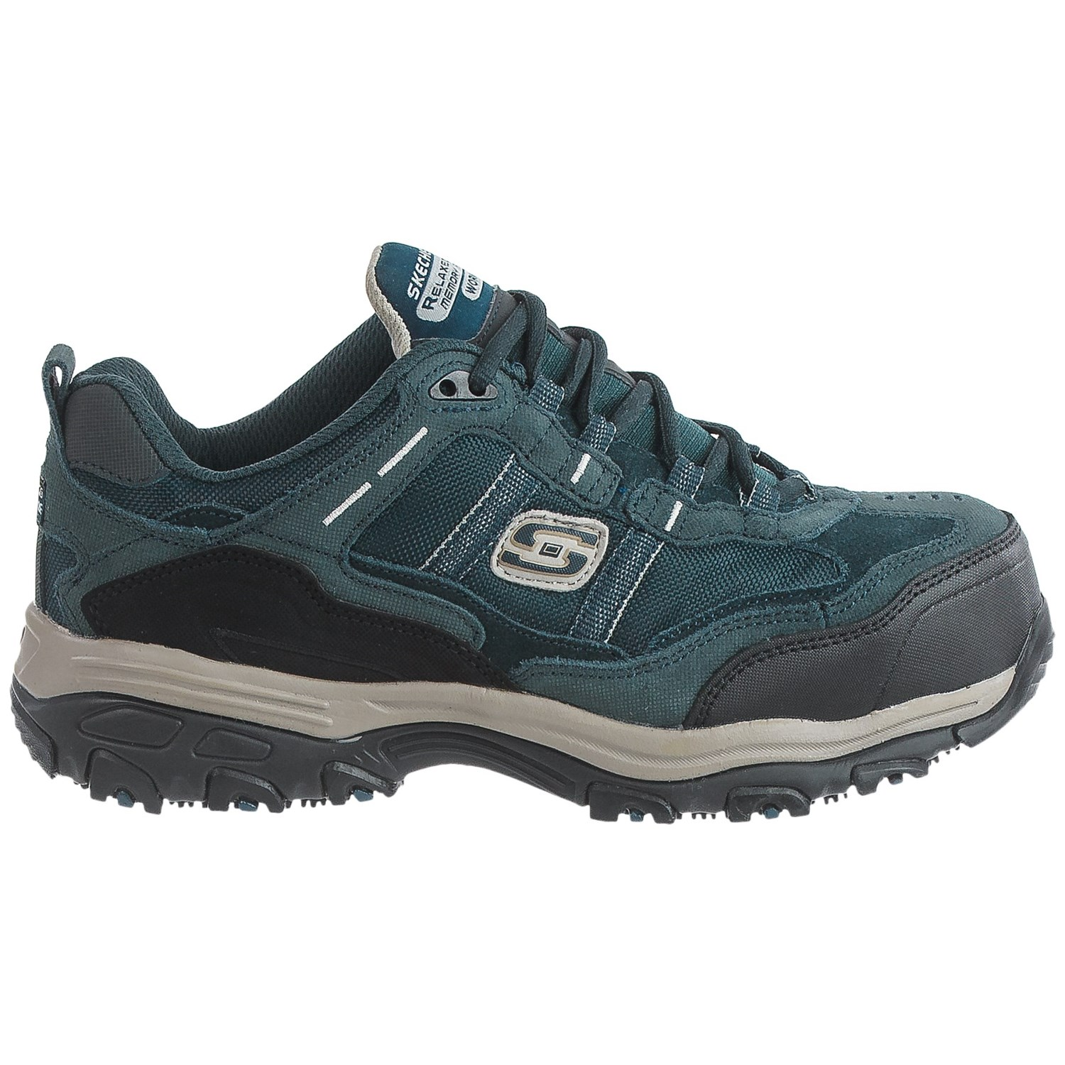 Skechers D'Lites SR Tolland Work Shoes (For Women) - Save 39%