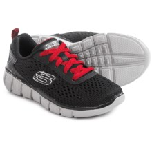 Skechers Equalizer 2.0 Sneakers (For Little and Big Boys) in Black/Red - Closeouts