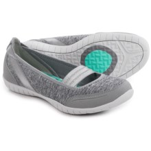 Skechers Flex Atomic Magnetize Mary Jane Shoes (For Women) in Grey - Closeouts
